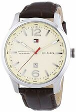 Men's Tommy Hilfiger Andre Brown Leather Watch 1710315