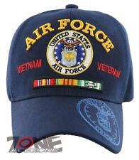 NEW! US AIR FORCE USAF VIETNAM VETERAN RIBBON BAR CAP HAT NAVY
