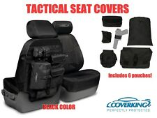 COVERKING TACTICAL MOLLE BLACK CUSTOM FIT SEAT COVERS for TOYOTA TUNDRA