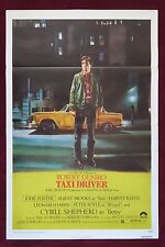 TAXI DRIVER * ORIGINAL VINTAGE MOVIE POSTER 1976 1SH 27X41 RARE TRI-FOLD C9 NM