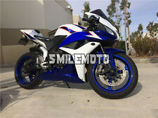 Fairing White Blue Black Injection Mold Fit for Honda 2007 2008 CBR600RR F5 kAD