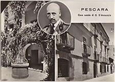 PESCARA - CASA NATALE DI GABRIELE D'ANNUNZIO - VEDUTINE