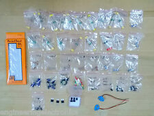 Electronics Components Kit , Ultimate DIY Kit ( 330+ Parts ) With Breadboard...