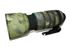 Nikon 80 400mm VR Neoprene lens protection camouflage coat cover green camo