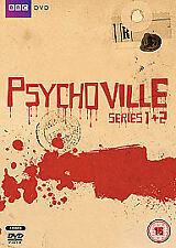 Psychoville – Series 1 & 2 DVD British Comedy Horror Mystery