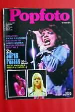 ROLLING STONES COVER VICKY LEANDROS ALICE COOPER 1973 WHO URIAH HEEP MAGAZINE
