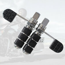 Pair Heel Foot Rest Peg Footrest Pedal For Harley Softail Sportster Dyna Fat Boy