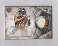 CODY LATIMER 2014 TOPPS VALOR 2-COLOR PATCH AUTO ROOKIE RC BRONCOS