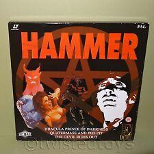 ENCORE ENTERTAINMENT THE HAMMER LASER DISC LASERDISC COLLECTORS EDITION BOX SET