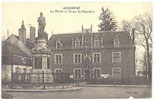 CPA 21 - AUXONNE (Côte d'Or) - La Mairie et Statue de Napoléon