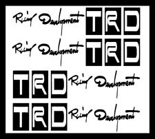 TRD Racing Sports Vinyl Cool TRD Decals for Car Handle Logo Sticker for Car 4Pcs