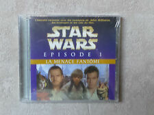 "CD AUDIO / STAR WARS EPISODE 1 ""LA MENACE FANTOME"" CD ALBUM NEUF SOUS BLISTER"