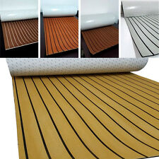 Very High-end Sailboat Teak 5MM Floor Protector Carpet S19T Yacht Decking Mat