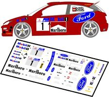 DECALS 1/43 FORD FOCUS RS WRC  #1 - KULIG - RALLYE ZIMOWY 2001 - MFZ D43001