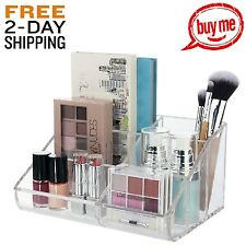Makeup Palette Organizer Beauty Supply Storage Plastic Vanity Cosmetics Drawer