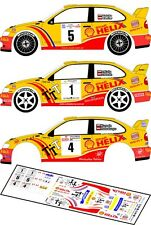 "DECALS 1/43 SEAT CORDOBA WRC "" SHELL HELIX "" - 3 VERSIONS 2001/02 - D43019"