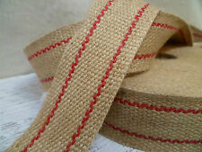 Upholstery Webbing - Premium 10lb Jute - 50mm - 32.9 Metre Roll - Free Shipping