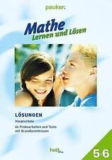 MATHE - LERNEN UND LöSEN KLASSE 5+6 LöSUNGEN