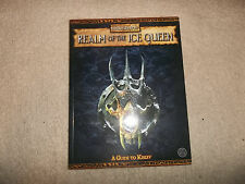 Warhammer Fantasy 2nd Ed Realm of the Ice Queen