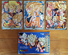 Booster Dragon Ball Z Carddass Le Grand Combat Jumbo + 3 cartes dont 1 prisme !
