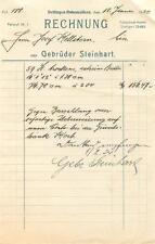 3x alte Rechnung, Dettingen (Horb) Gebrüder Steinhart 1920 1923 1924  #E720