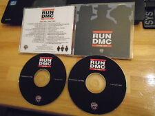 MEGA RARE PROMO Run-DMC 2x CD Forever publishing 31 trax! Kid Rock KRUSH GROOVE