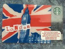 2011 STARBUCKS LONDON BIG BEN  GIFT CARD NO VALUE