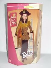 1998 MATTEL BARBIE FALL COLLECTION AUTUMN IN PARIS CITY SEASONS DOLL IN THE BOX
