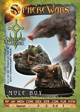 Sphere Wars Mole Boy A Adepts of Malesur Malesur metal miniature new