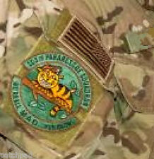 AFSOC EXPEDITION WING PJ PARARESCUE SSI: Cheshire Cat We're All Mad + R-US Flag