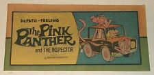 "THE PINK PANTHER 1970s CARTOON MINI COMIC BOOK 3x6"" NOS INSPECTOR CLOUSEAU"