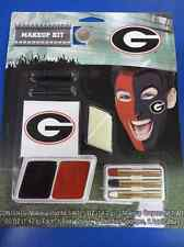 Georgia Bulldogs Makeup Kit NCAA Football College Game Day Costume Accessory