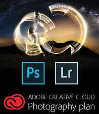 Adobe Creative Cloud Photography Plan (Photoshop CC + Lightroom) [12 Months]