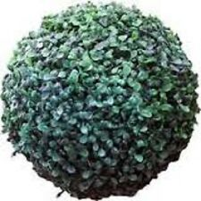 Artificial Topiary Ball 20 LED 27cm Solar Powered Hang it or Display in a Pot