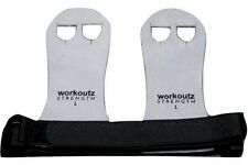 WORKOUTZ LEATHER GYMNASTICS HAND GRIPS (SMALL, PAIR) PALM PADS CROSS TRAINING