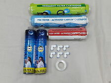 Pre/Post Carbon,Sediment & Pre Filter Set For Eureka Forbes Reviva RO Purifier