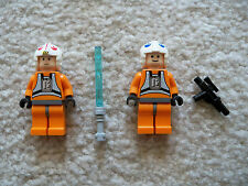 LEGO Star Wars - Rare Luke Skywalker & Dack Ralter - 7666 - Excellent