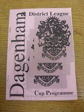 12/05/1996 FIUME DOMENICA LEAGUE Bellamy Cup Final: pegstonians V Tienimi aggiornato PA