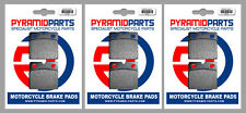 BMW R100 1000 CS, RS, RT 81-84 Front & Rear Brake Pads Full Set (3 Pairs)