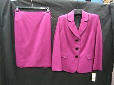 LESUIT SKIRT SUIT/NWT/$240/SIZE 16W/FULLY LINED/ORCHID/SMOKE FREE/