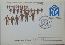 POLAND 1991 -ST 91072  RARE - Sixth World Youth Day