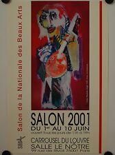 Affiche LORJOU 2001 Exposition Carroussel Louvre