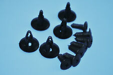 10PCS OPEL ASTRA BLACK PLASTIC TRIM RETAINER CLIPS FIX BUMPER FENDER