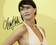 CARICE VAN HOUTEN #1 10X8 PRE PRINTED (SIGNED) LAB QUALITY PHOTO - FREE DELIVERY