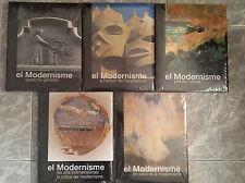 El Modernisme 5 volumenes Edicions L'isard