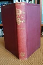 The Altar at Home Prayer for the Family and Closet 1881 Christian Boston Clergy