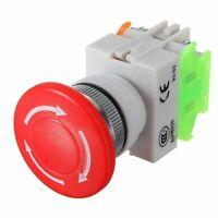 600V 10A Aus Schalter Notausschalter Emergency Stop Switch Pushbutton J5
