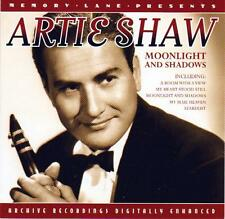 ARTIE SHAW - MOONLIGHT AND SHADOWS  (NEW CD)