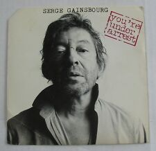 SERGE GAINSBOURG (SP 45 Tours)  YOU'RE UNDER ARREST
