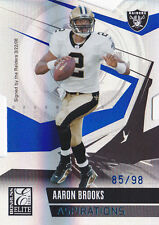 2006 Donruss Elite Aspirations #61 Aaron Brooks #/98